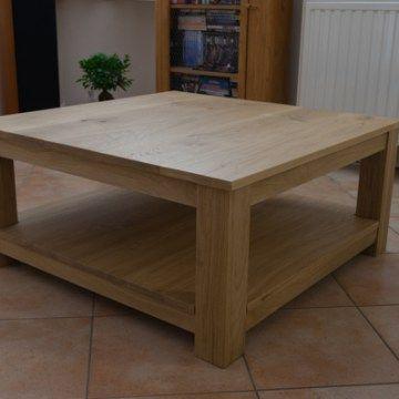 Fabrication d'une table basse en chêne massif, à partir de planches rabotées et à l'aide d'outillage électroportatif. 1ère partie : les pieds.