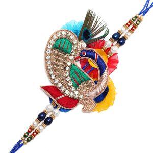 Rich Look Designer Mayur Rakhi