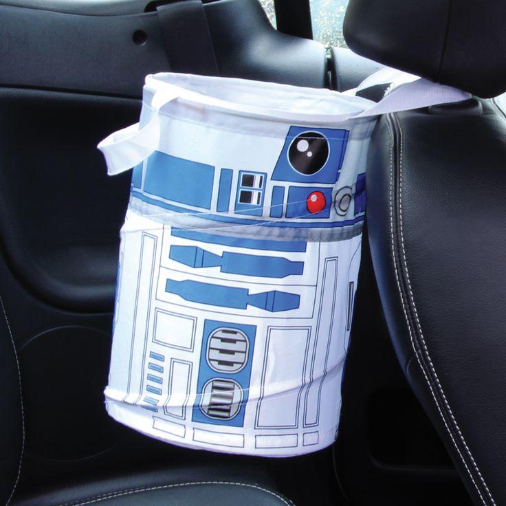 Star Wars R2D2 Pop-up vuilnisbak  Description: Heb nooit meer last van prulletjes onderweg in de auto met de R2D2 Pop-up vuilnisbak. Deze handige opvouwbare vuilniszak is ideaal om te gebruiken in de auto camping of op een festival. Er kan meer dan 9 liter in en hij weegt maar 100 gram. Zeer geschikt voor de Star Wars fans. Je koopt de R2D2 Pop-up vuilnisbak online bij Ditverzinjeniet.nl.  Price: 14.95  Meer informatie