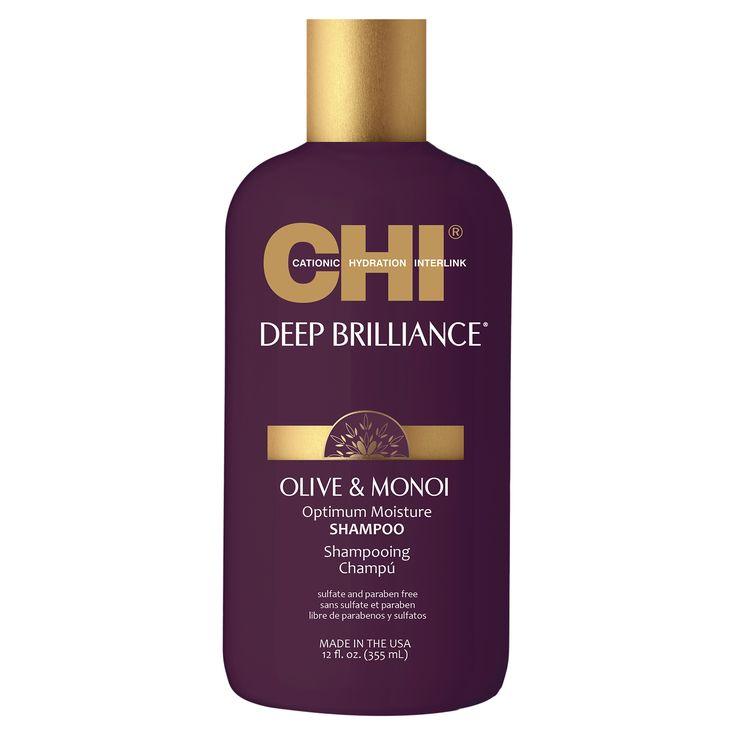 CHI Deep Brilliance Olive & Monoi Optimum Moisture Shampoo 355ml.