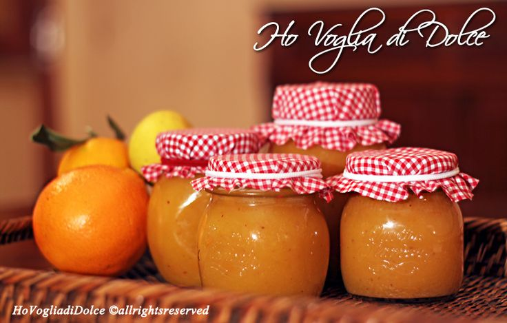 Marmellata di arance e rum