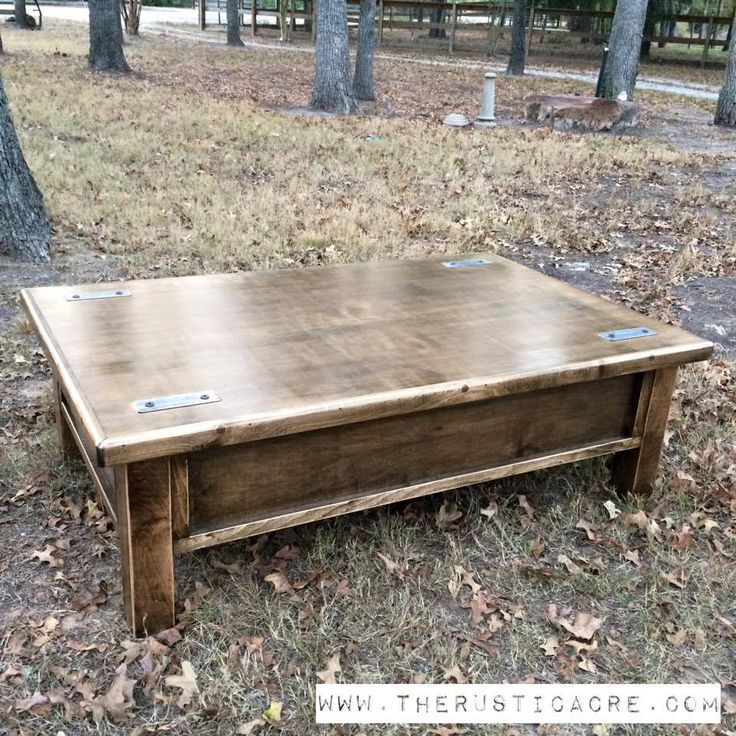 Coffee Table With Gun Drawer Plans: 1000+ Ideas About Hidden Gun Storage On Pinterest