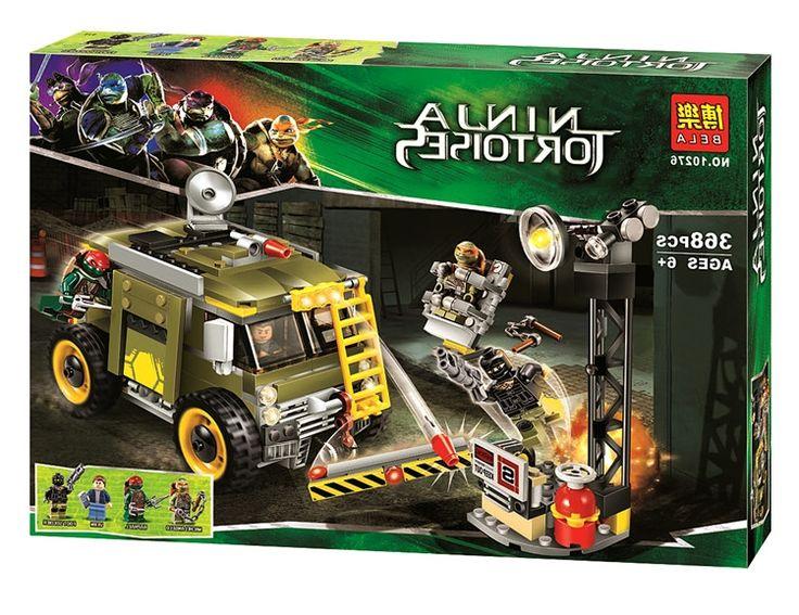 26.00$  Buy now - https://alitems.com/g/1e8d114494b01f4c715516525dc3e8/?i=5&ulp=https%3A%2F%2Fwww.aliexpress.com%2Fitem%2FTMNT-Ninja-Turtles-Set-Turtle-Van-Takedown-Raphael-Michelangelo-368pcs-Building-Bricks-Blocks-Sets-Compatible-With%2F32752151113.html - TMNT Ninja Turtles Set Turtle Van Takedown Raphael Michelangelo 368pcs Building Bricks Blocks Sets Lepin 79115 26.00$