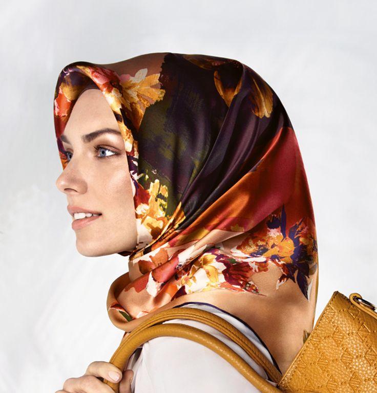 Armine Silk Hijab Scarf Spring Summer 2015 #6436