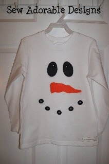 Snowman Shirt, Christmas Crafts, Christmas Crafts