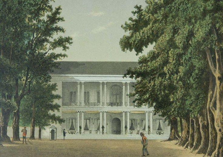 Josias Cornelis Rappard - Rumah dinas Residen Pekalongan di Boyong