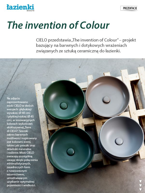 Cielo - Invention of Colour