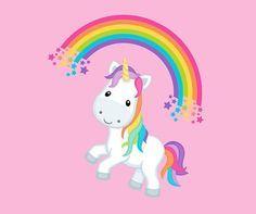 Grupo unicornio rosa magia impresa en oeko tex certificado
