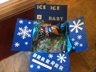 Winter Themed Care Package