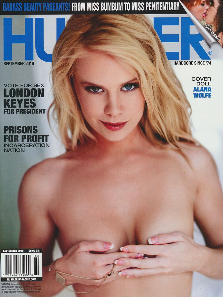 Hustler cover september 2001 some