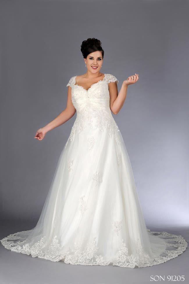 Vestido de noiva Plus Size - coleção Sonsie Verominia 2014.