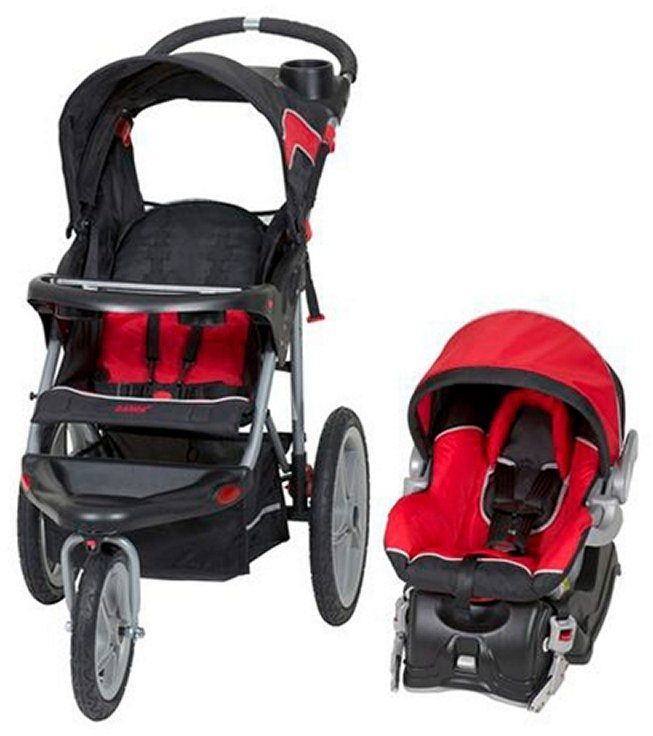 Baby Car Seat Stroller Travel System Infant Seats With Canopy Lockable Wheel 3pc #BabyTrend
