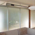 Sliding Glass Loft Dividers