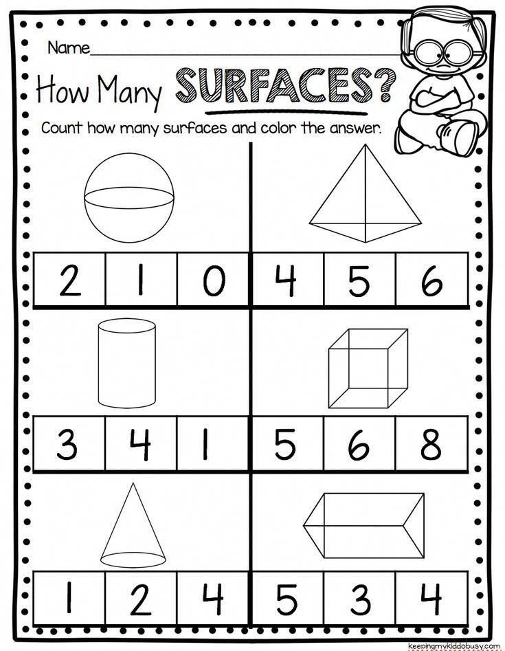 Geometry Worksheets For Kindergarten Common Core Math Unit Teach Sides Common Core Math Kindergarten Shapes Worksheet Kindergarten Kindergarten Geometry