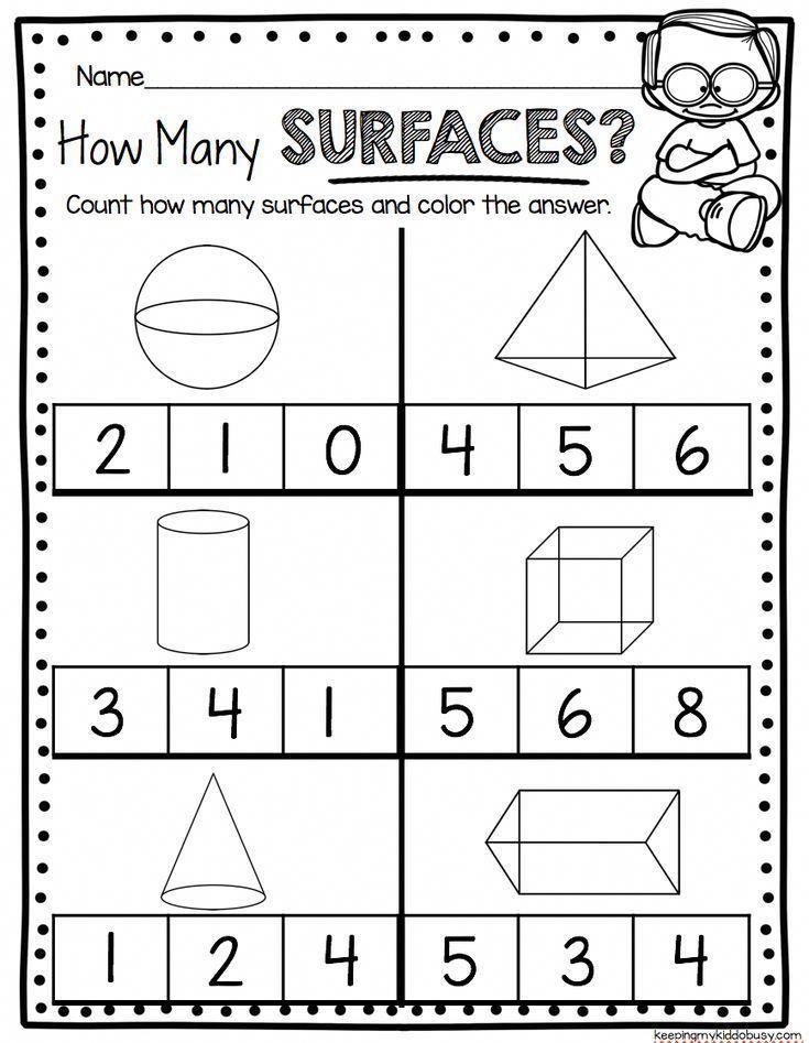 Geometry Worksheets For Kindergarten Common Core Math Unit Teach Sides Common Core Math Kindergarten Kindergarten Geometry Shapes Worksheet Kindergarten