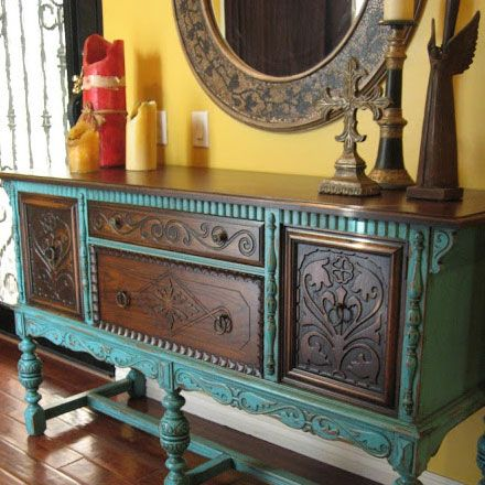 Click Pic for 21 DIY Pallet Projects | Old World European Sideboard | DIY Pallet Furniture | DIY Wood Pallet Projects