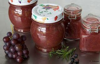 De keuken van Johanna: Druiven-Appeljam