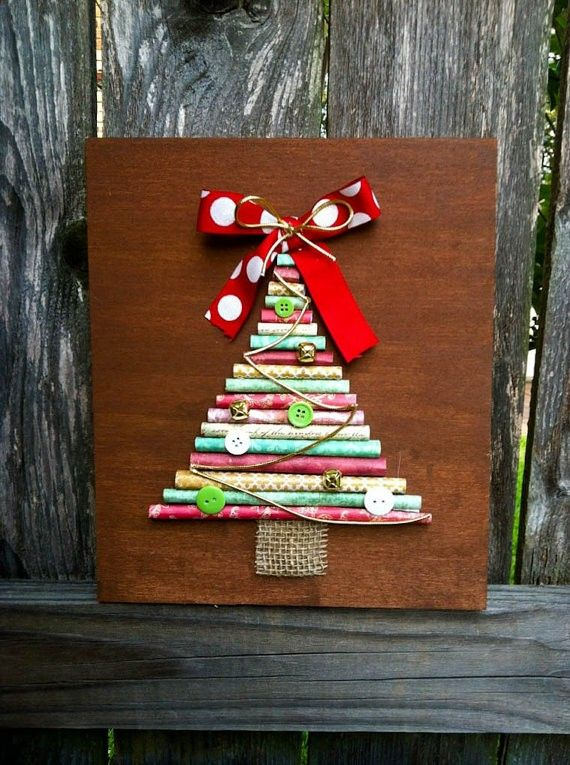 Wooden Christmas Signs Part - 40: DIY Wooden Christmas Tree Signs, Christmas Wood Signs, Handmade Christmas  Tree Signs