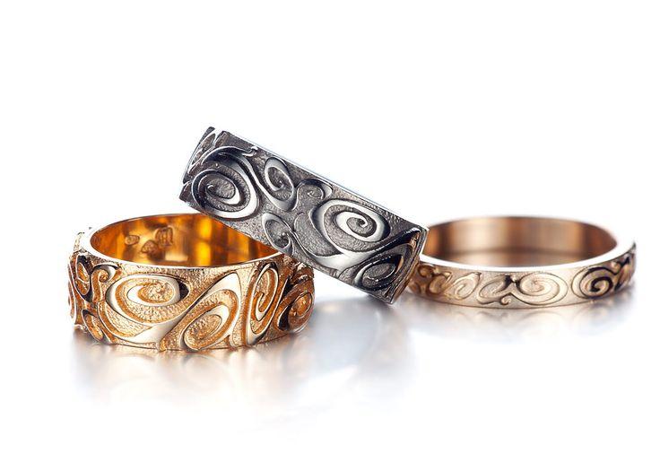 Carina Blomqvist Design - Baroc rings  Photo: Teemu Töyrylä