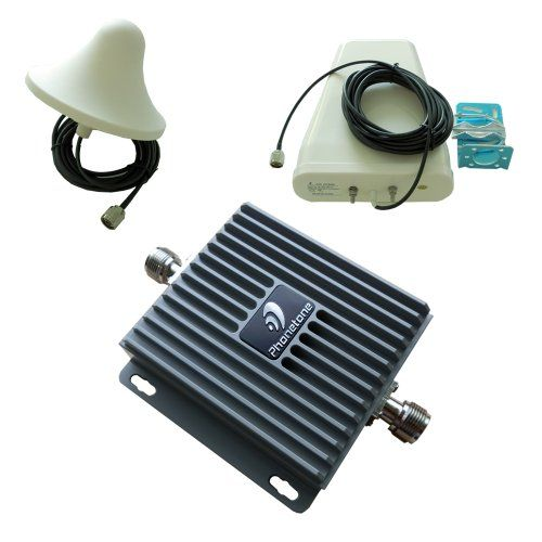 65dB Gain GSM 3G LTE 850MHz 1900MHz Cell Phone Mobile Signal Booster Repeater Full Kit with Antennas For Home Or Office - For Multiple Users Frequency Range : 824-849MHz/1850-1910MHz,869-894MHz/1930-1990MHz. Standard Supported : CDMA, WCDMA, GSM, EDGE, TDMA and AMPS etc.. Max. Gain (dB) :65dB. I/O Port : N-Female on both ends. Power Supply : AC100~240V 50/60Hz 1A; DC 6V/2.5A.  #Phonetone #Wireless