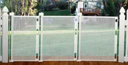 Smart Retract ~ Retract-A-Gate - Retractable Safety Gate, Retractable Baby Gate, Retractable Dog Gate, Retractable Cat Gate or Retractable Pet Gate. An easy to use wide retractable safety gate for indoors or outdoors and certified for use at the top and b