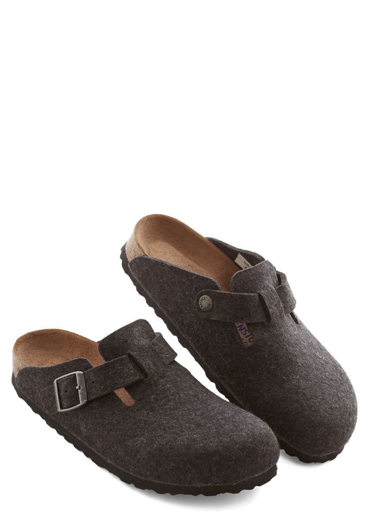 Casual Evening Clog in Charcoal
