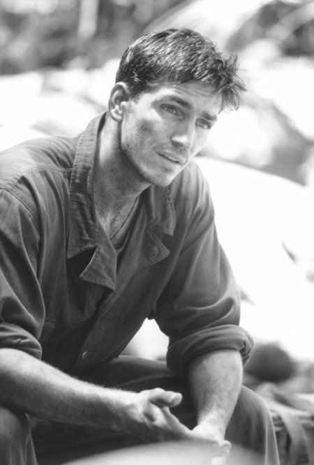 "Jim Caviezel as 'Private Witt' in Terrence Malick's film ""The Thin Red Line."""