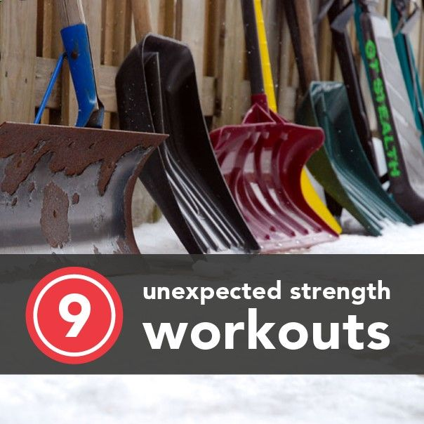 Hate wasting a beautiful day inside the gym picking things up and putting them down? Not psyched about pumping iron, period? Take strength training to go with these daily activities that double as muscle-building exercises.