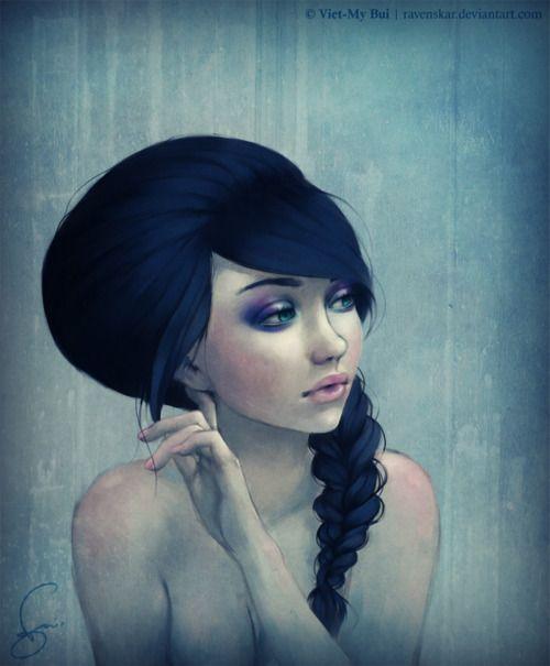 water color: Illustrations Art, 3D Character, Girls Illustrations, Digital Paintings, Girls Generation, Girls Drawings, Digital Art, Paintings Portraits, Digital Illustrations