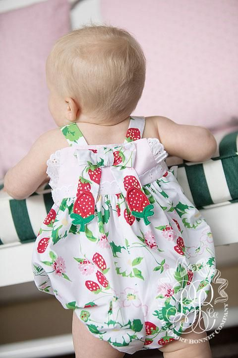 74e73ac409 Bitsy Bubble - Greenwich Garden with Plantation Pink and Strawberry Ap -  The Beaufort Bonnet Company