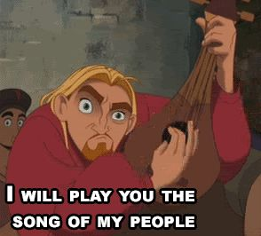 The Road to El Dorado... I swear, whenever I see this part in the movie, I die laughing. Never gets old.
