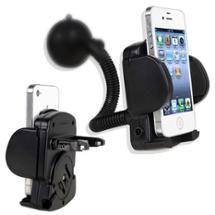 Walmart: INSTEN Black Cellphone PDA Car Holder Windshield Mount For Apple iPhone 5S 5C Samsung Galaxy S4 i9500 Note 3 LG Nexus 5