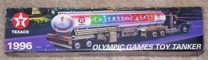 1996 Olympic Games Toy Tanker - By Texaco