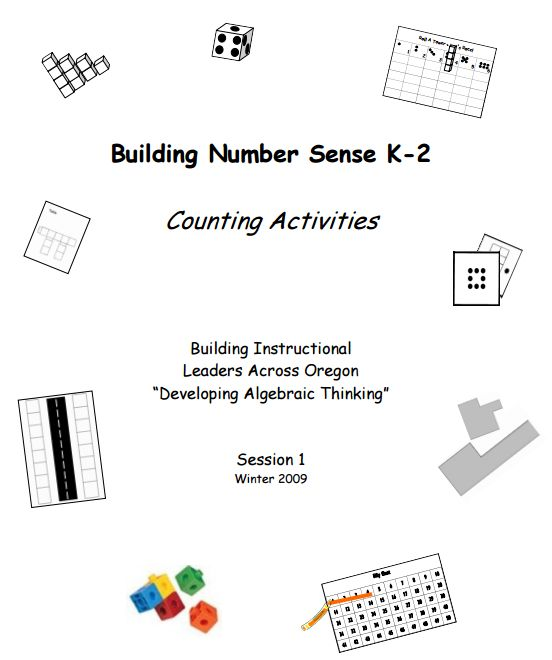 Kathy Richardson Number Sense Activities