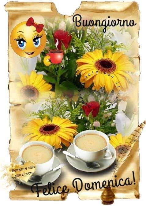 Buongiorno Domenica Domenica Pinterest Smiley