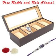 Rakhi With Watch For Your Loving Brother