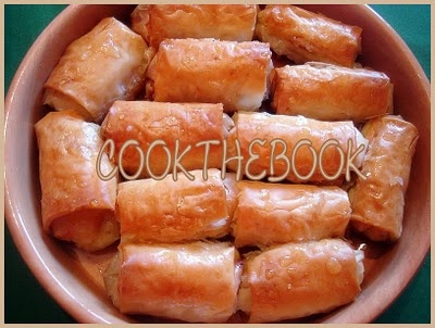 cookthebook: Γαλακτομπουρεκάκια
