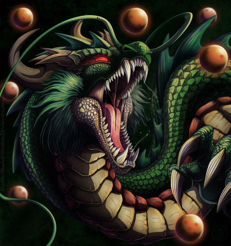 Shenron the Eternal Dragon by darkly-shaded-shadow on @DeviantArt
