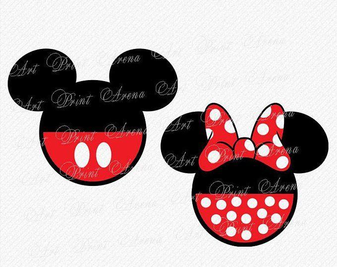 Disney Alphabet SVG Disney font svg Ears svg, Minnie font ...