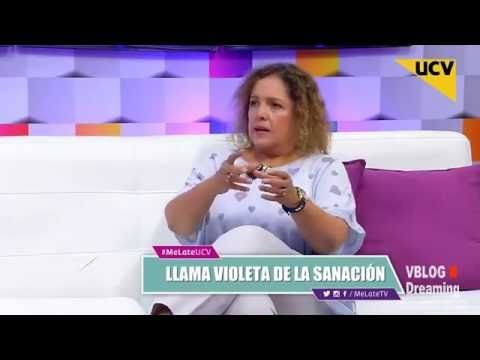 La llama Violeta de la Sanación por Lita Donoso