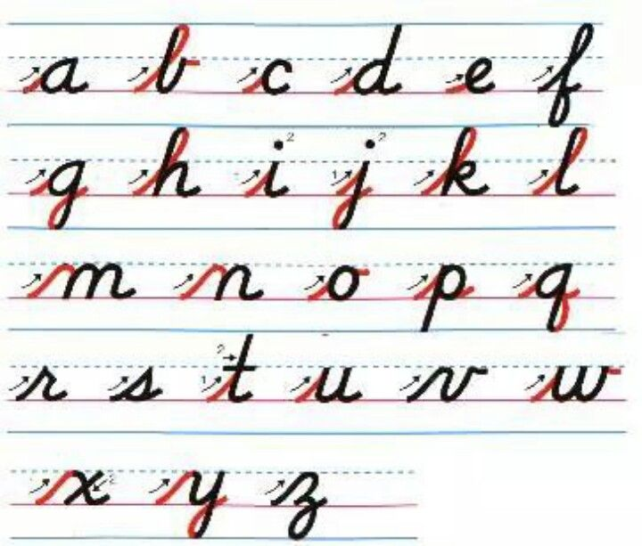 1000+ ideas about Cursive Writing For Kids on Pinterest | Writing ...