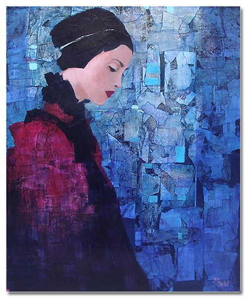 Richard Burlet Considered An Abstract Figurative Artist, The Paintings  Created By Richard Burlet Are Born Of An Inspiration T.