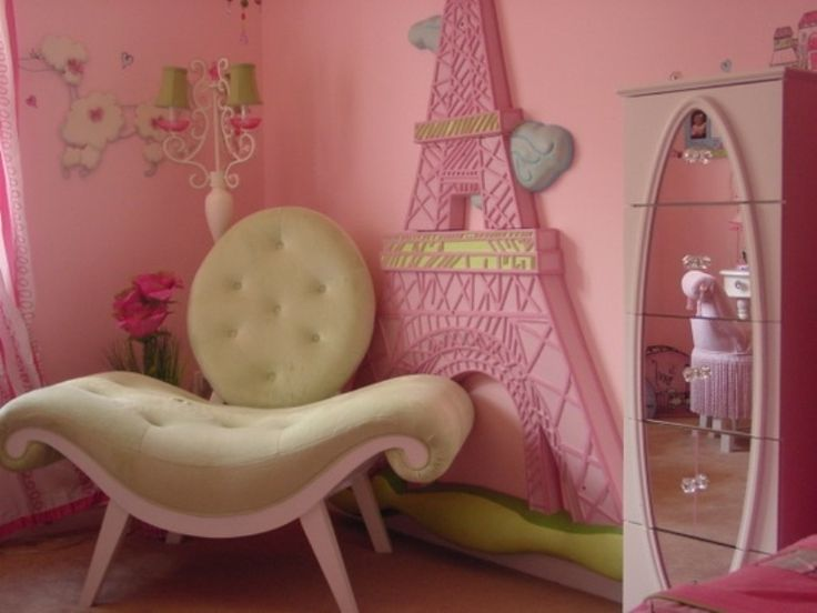 how to create a charming girls room in paris style kidsomania - Eiffel Tower Decor For Bedroom