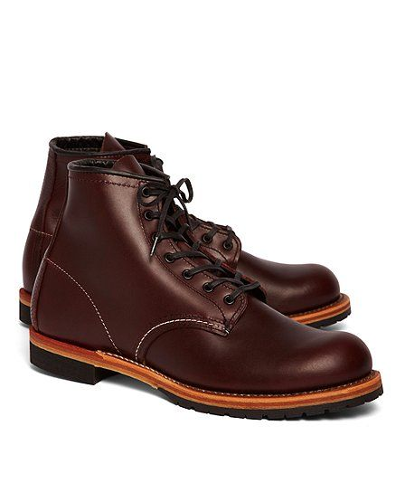 Red Wing 9011 Black Cherry Featherstone - Brooks Brothers  Red Wing Boots for Brooks Brothers