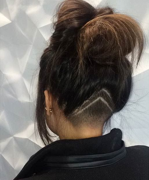 31 Trendy Undercut Styles for Bold Women Instagram