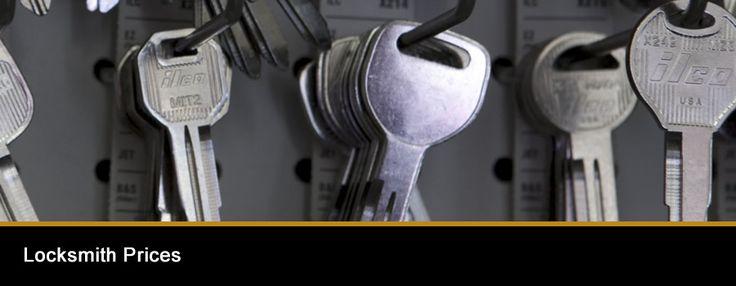 Locksmith Prices