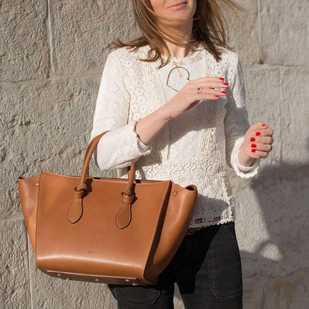 celine bag for less - celine tie bag red