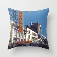 Throw Pillow featuring The Apollo by designed to a T