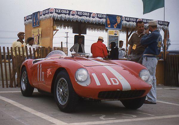 John von Neumann - Ferrari Mondial with Monza engine.