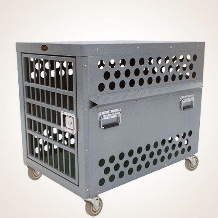 Zinger 4000 Professional Aluminum Heavy Duty Dog Crate